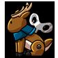 Wind-Up Reindeer