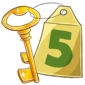 2012 Calendar Key 5