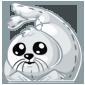 Cuddly Harp Seal Plushie