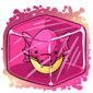 Pink Sharshel Jakrit Egg Ice Cube