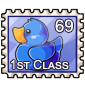 Blue Ducky Stamp