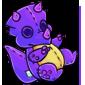 Purple Trido Plushie