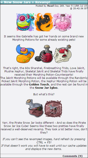 2015-07-15 New Snow Jars + Revamp!
