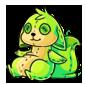 Green Dabu Plushie