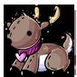 Cupid Reindeer Plushie