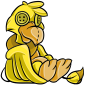 Yellow Dovu Plushie