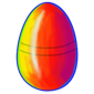 Rainbow Jakrit Egg