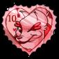 Xephyr Heart Stamp