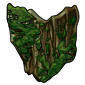 Enchanted Moss Shield