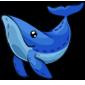 Cuddly Blue Whale Plushie
