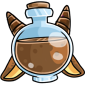 Brown Makoat Morphing Potion