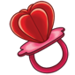 Strawberry Heart Ringpop