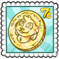 Lucky Penny Stamp