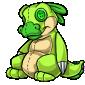 Green Traptur Plushie