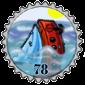 Broken Ship Stamp