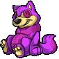 Purple Wulfer Plushie