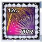New Years Stamp