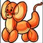 Orange Cobron Balloon