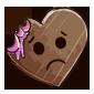 Bitten Heart Chocolate