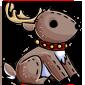 Donner Reindeer Plushie