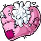 Torn Heart Plushie