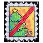 Anti-Christmas Stamp