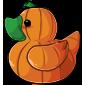 Pumpkin Ducky