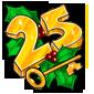 2012 Calendar Key 25