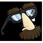 Fake Moustache Glasses