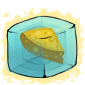 Cheese Ice Cube