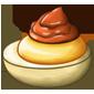 Chocolate Cream Deviled Egg