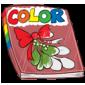 Mistletoe Coloring Book