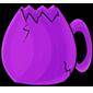 Purple Jakrit Egg Cup