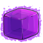 Purple Ice Cube Before 2015 revamp