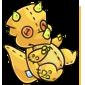 Yellow Trido Plushie