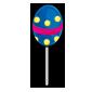 Blue Jakrit Egg Lollipop