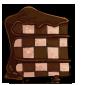 Checkerboard Heart Cake