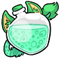 Bluegreen Ridix Morphing Potion