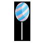 Cottoncandy Jakrit Egg Lollipop