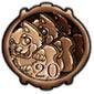 Chocolate Wulfer Stamp
