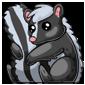 Cuddly Skunk Plushie