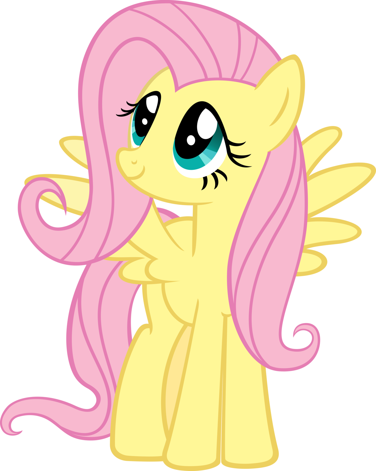 image fluttershy my little pony friendship is magic png ichc
