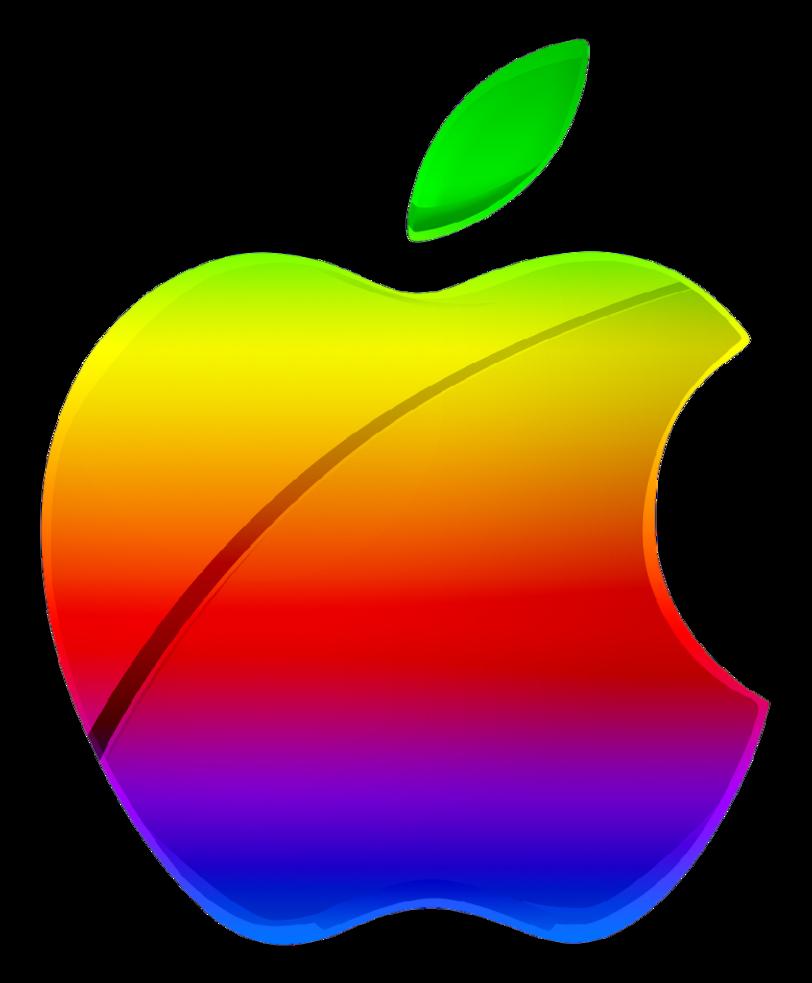 image colored modern apple logo vector by thegreenmachine987 rh ichc channel wikia com apple logo vector png apple logo vector file