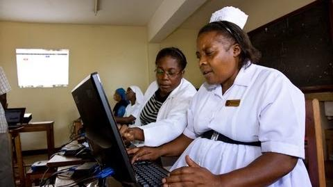 How IICD supports healthcare in Africa by using ICT