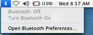 Bluetoothonoff