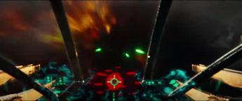 Alien Fighter Cockpit