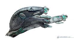 Gunship concept art