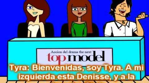 Acción del drama the next top model Episodio 1