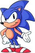 Sonic satam sonic render