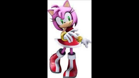 Sonic The Hedgehog 2006 - Amy Rose Voice Sound